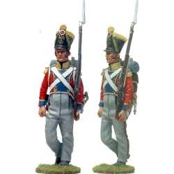 Soldado infantería línea francesa segundo regimiento suizo