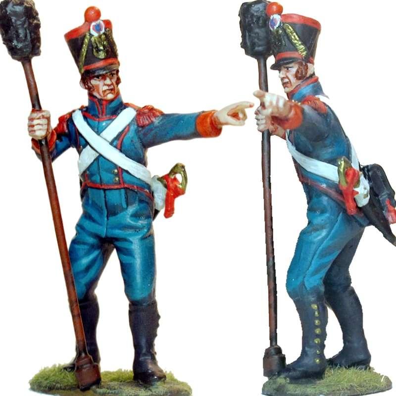 Soldado de artillería línea francesa 4