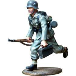 WW 169 toy soldier servidor MG voluntarios división Volkhov