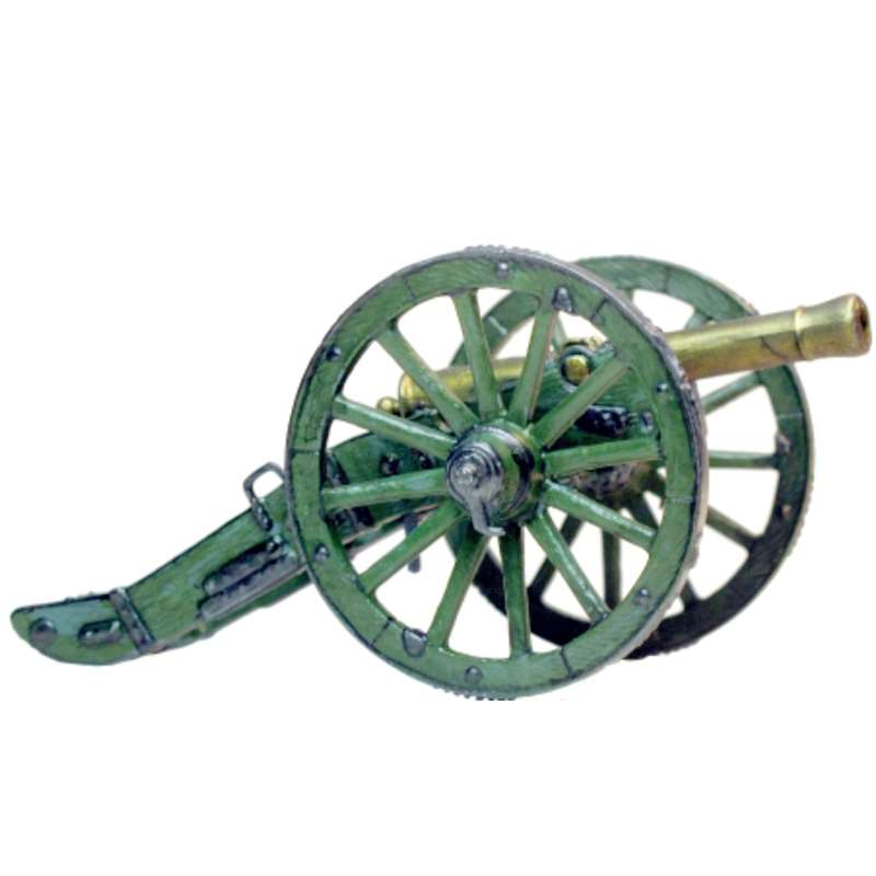 French cannon 12 p.d.r Gribeauval system