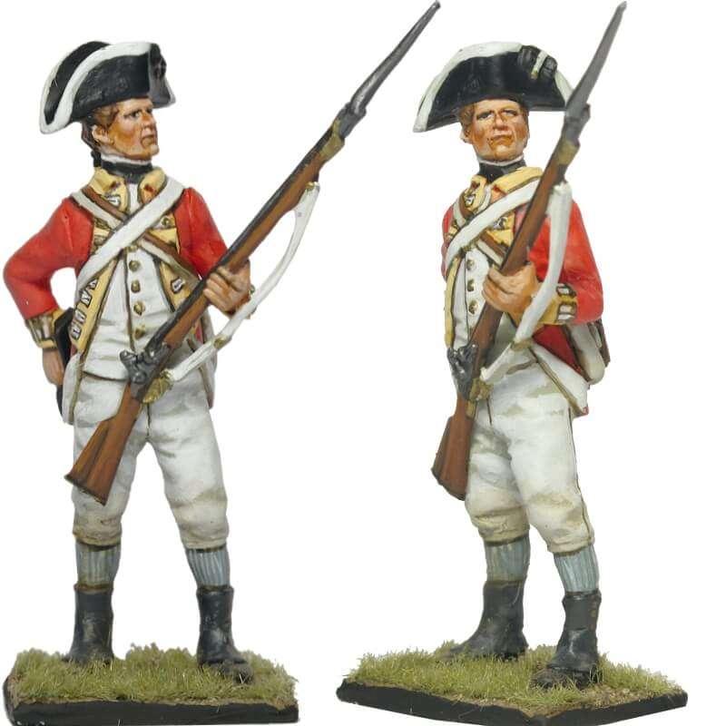 Fusilero 62 infantería británica