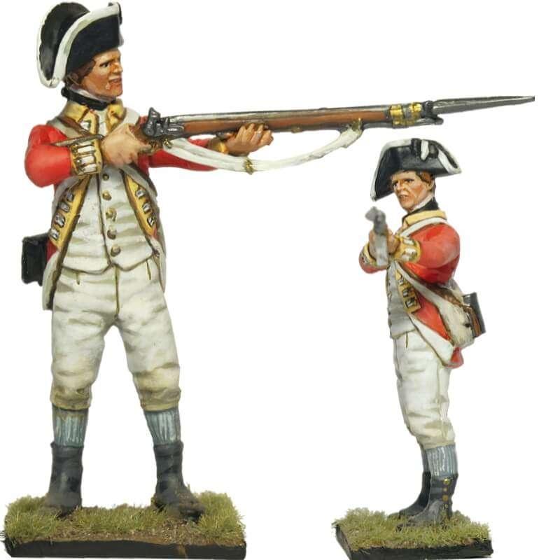 62nd british infantry regiment fusilier 1776 firing