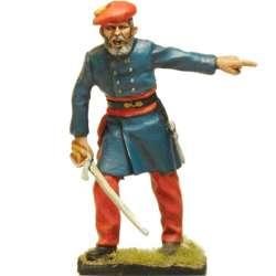 Oficial infantería carlista, Batalla de Oriamendi