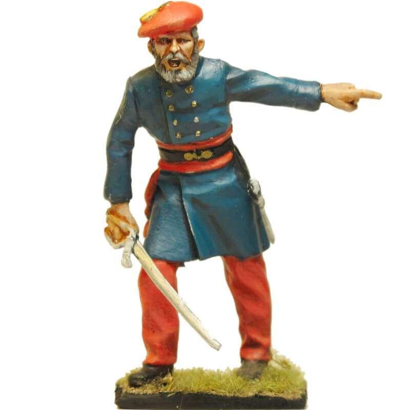 Carlist infantry officer Oriamendi battle