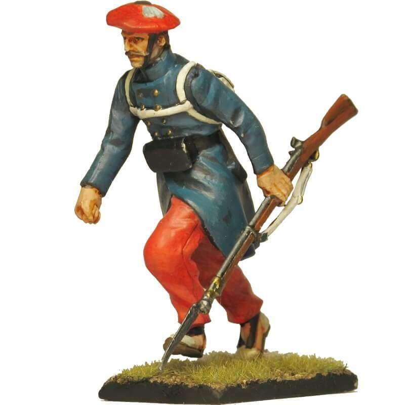 Carlist infantry soldier 2 Oriamendi battle