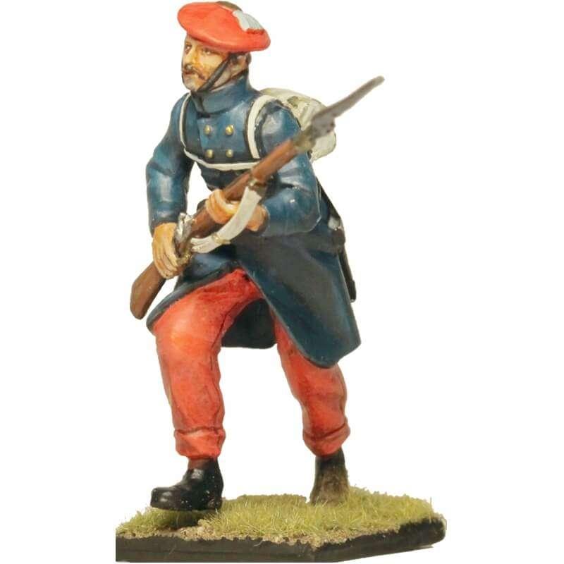 Carlist infantry soldier 3 Oriamendi battle