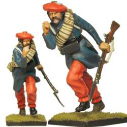 Carlist infantry soldier 4 Oriamendi battle