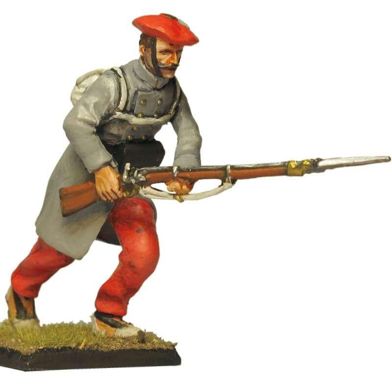 Carlist infantry soldier 5 Oriamendi battle