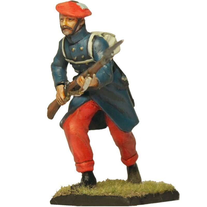 Carlist infantry soldier 6 Oriamendi battle
