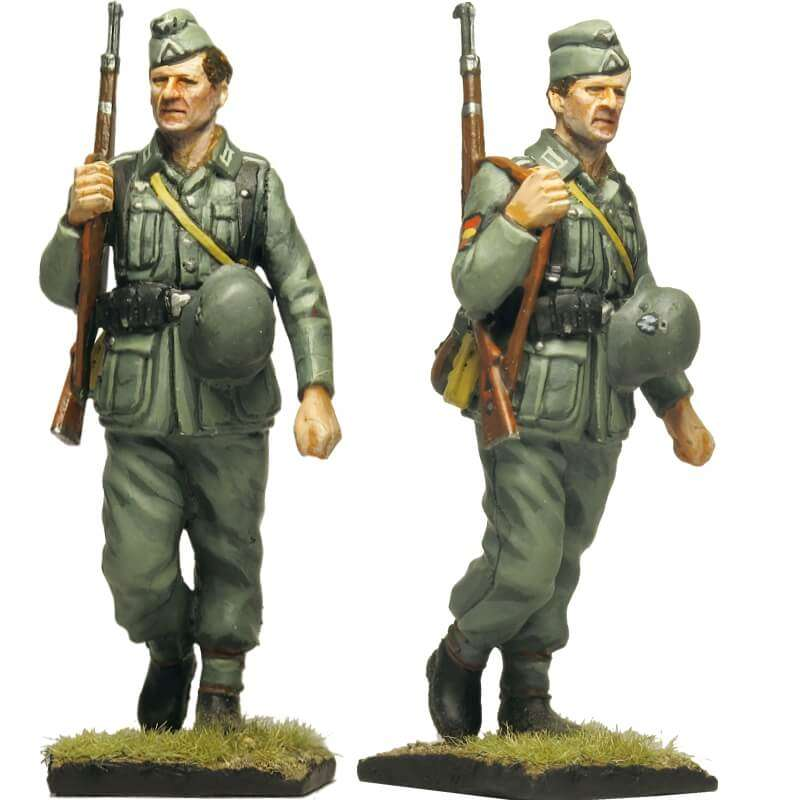 Spanish Blue division 250 WH infantry division Private 1