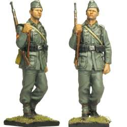 Soldado 2 de la división 250 WH División azul