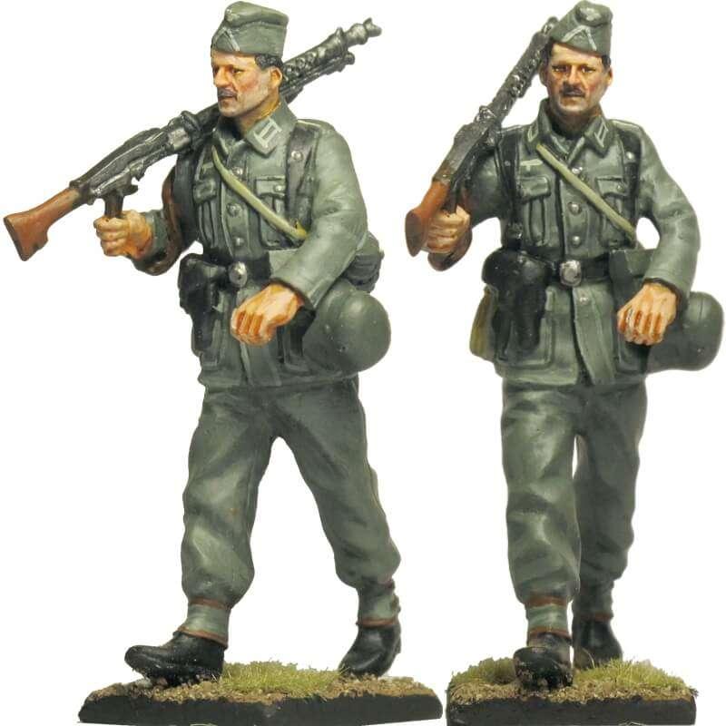 Spanish Blue division 250 WH infantry division MG Gunner