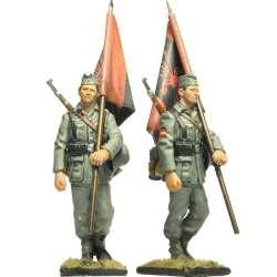 Spanish Blue division 250 WH infantry division Standard bearer