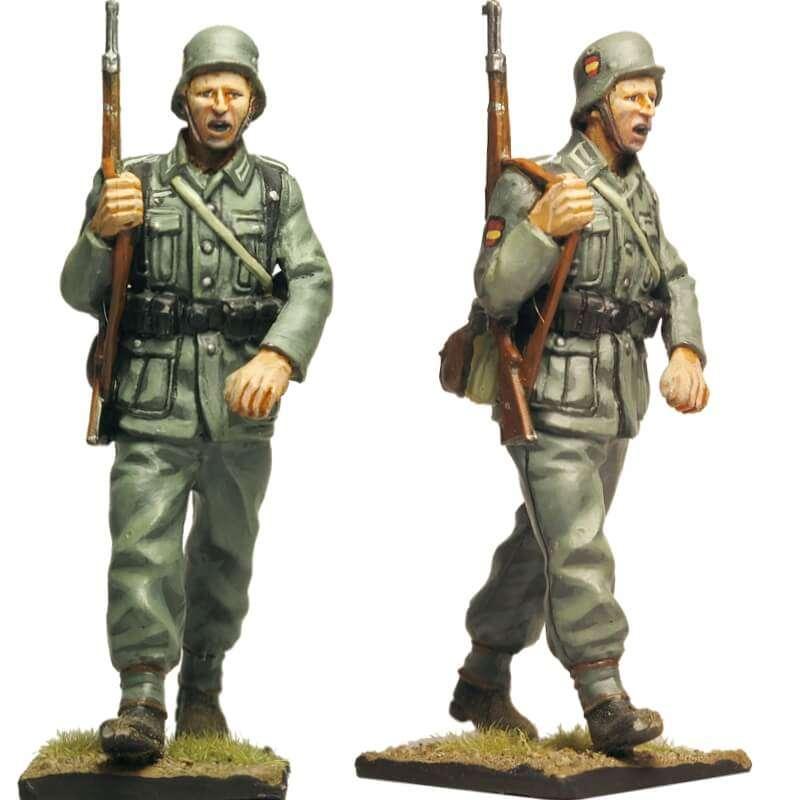 Soldado 3 de la división 250 WH División azul