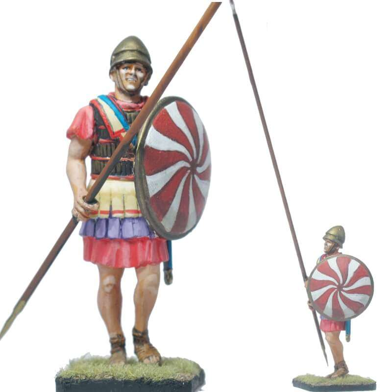 Macedonian infantry