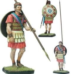 Infante macedonio en marcha