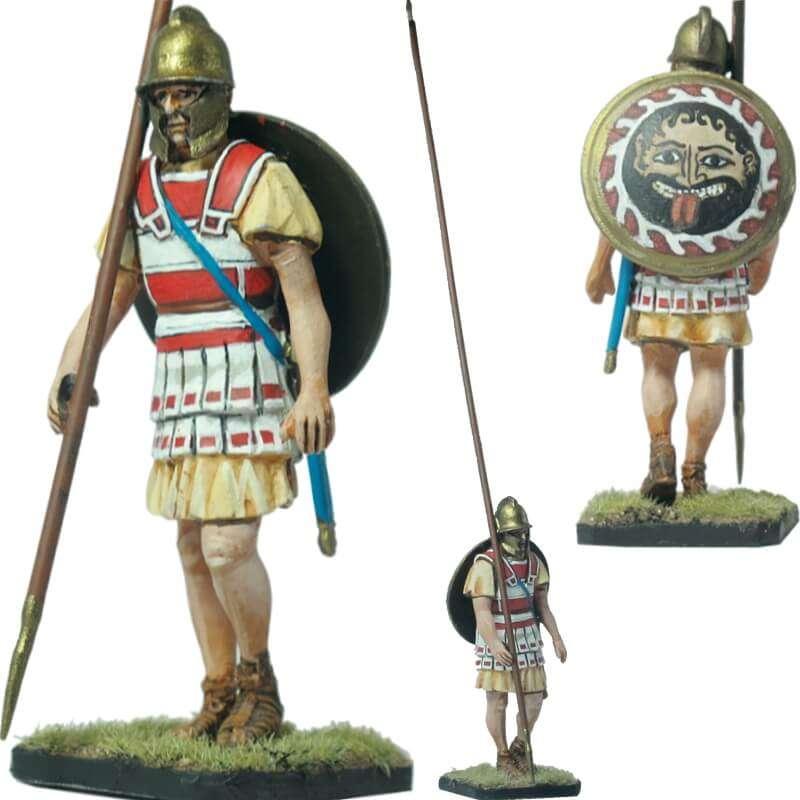 Macedonian infantryman Lynotorax