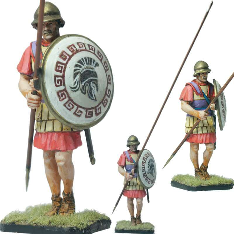 Infante macedonio casco beocio