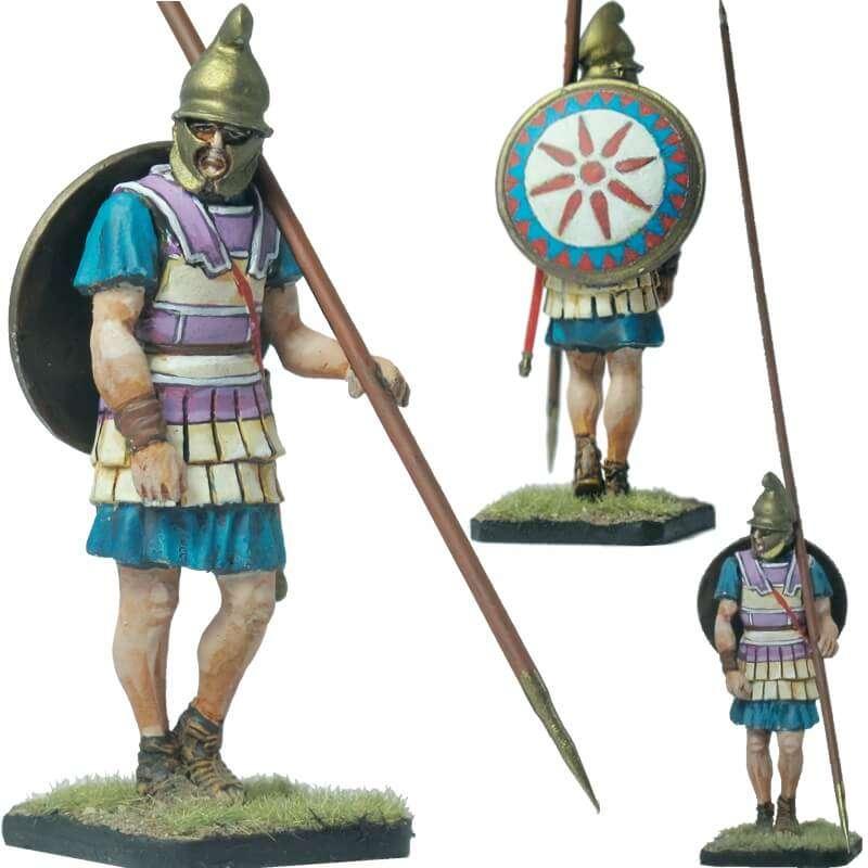 Macedonian infantryman phrygian helmet