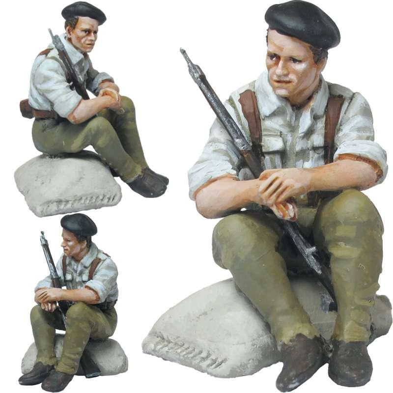 Republican army mixed brigade soldier