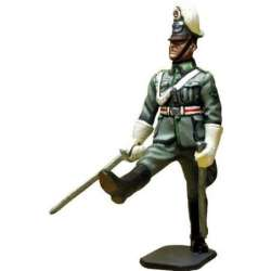 Oficial 2 policía alemana desfile
