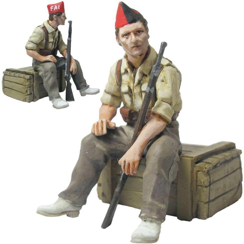Anarchist militiaman Durruti column
