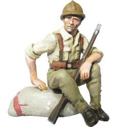 Soldado infantería republicano campaña del Ebro