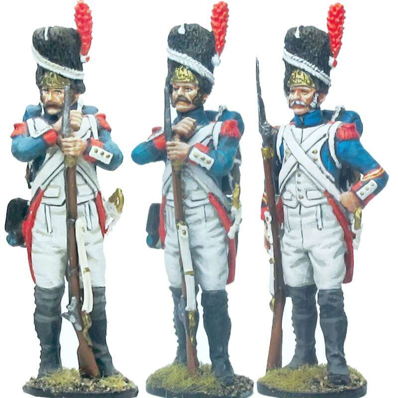 Set 1 French imperial guard grenadiers