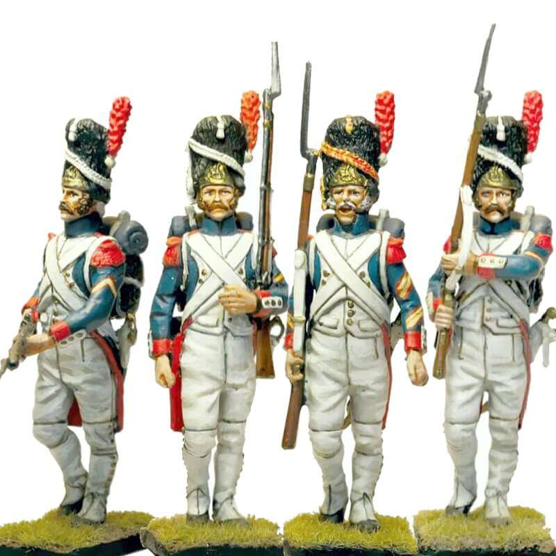 Set 2 French imperial guard grenadiers