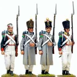 Set 1 Voltigeur infantería línea francesa
