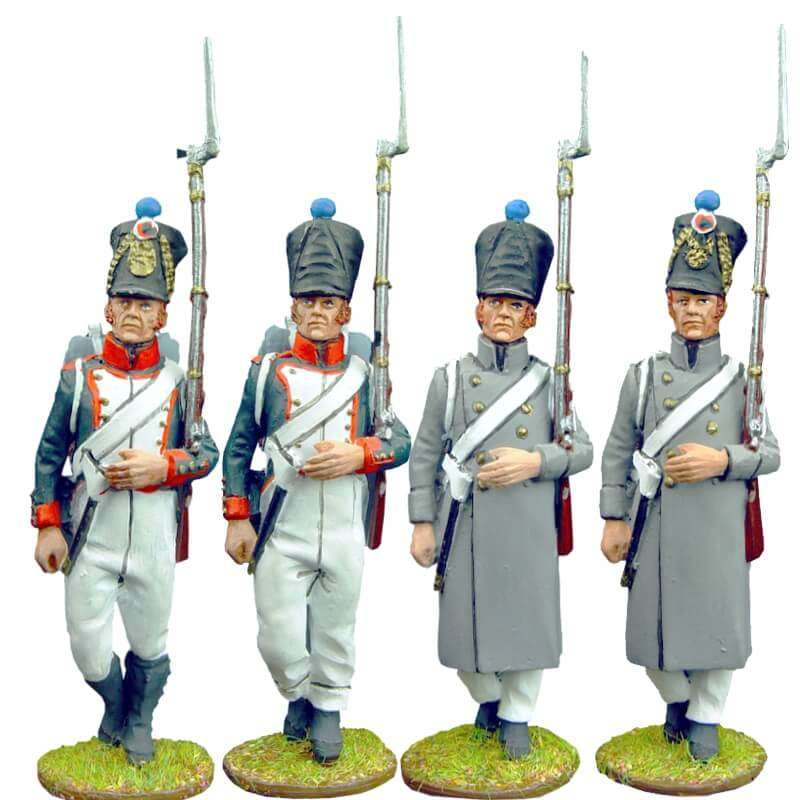 Set 1 French line fussiliers