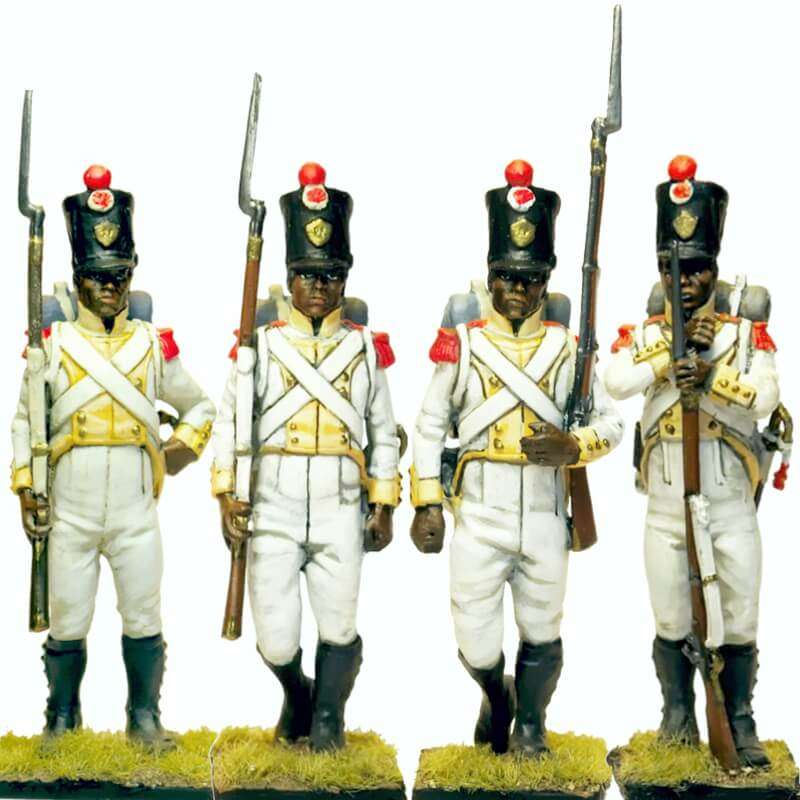 Set 1 Regimiento real africano Reino de Nápoles
