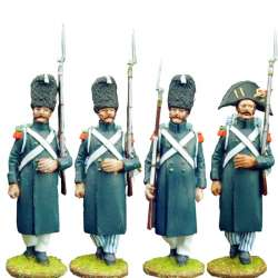 Set 1 Cazadores guardia imperial francesa