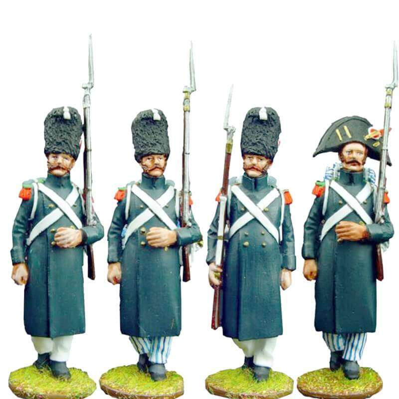 Set 1 Cazadores guardia imperial francesa