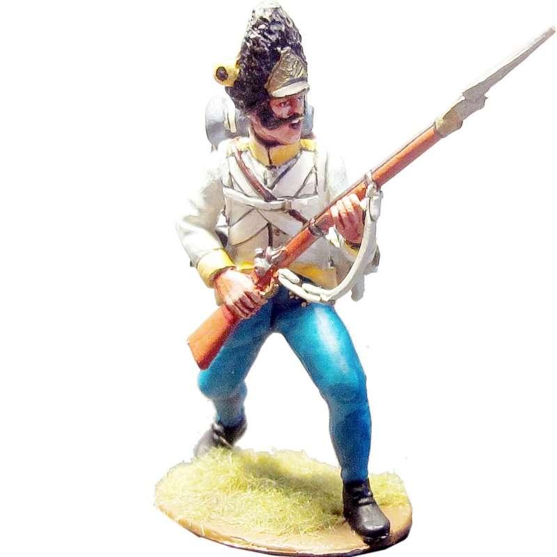 Granaderos regimiento húngaro Hiller pose combate 1