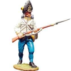 Hungarian regiment Hiller grenadiers combat pose 3