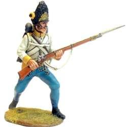 Granaderos regimiento húngaro Hiller al ataque