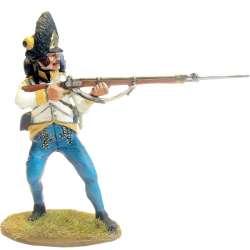 Granaderos regimiento húngaro Hiller disparando en combate