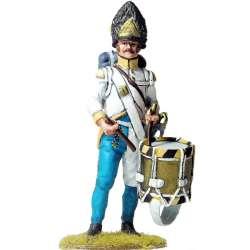 Tambor Granaderos regimiento húngaro Hiller