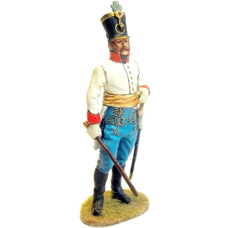 Austrian hungarian infantry regiment Duka fussilier officer