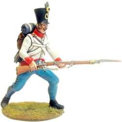 Fusileros regimiento infantería austriaco Duka al ataque
