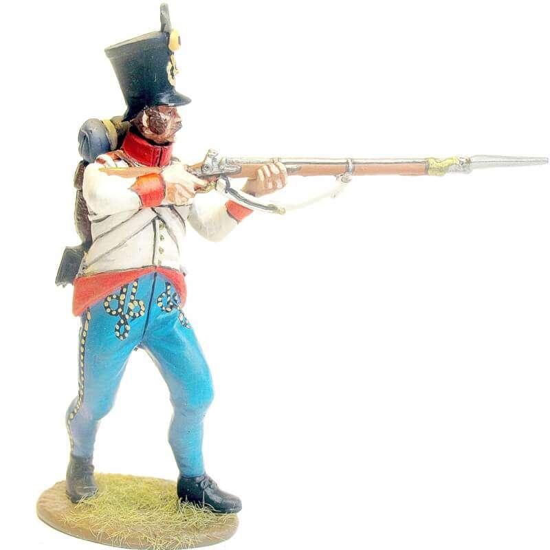Austrian hungarian infantry regiment Duka fussilier standing firing 2