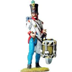 Austrian hungarian infantry regiment Duka fussilier drummer