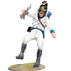 Austrian infantry regiment Lindenau 1805 fussiliers falling