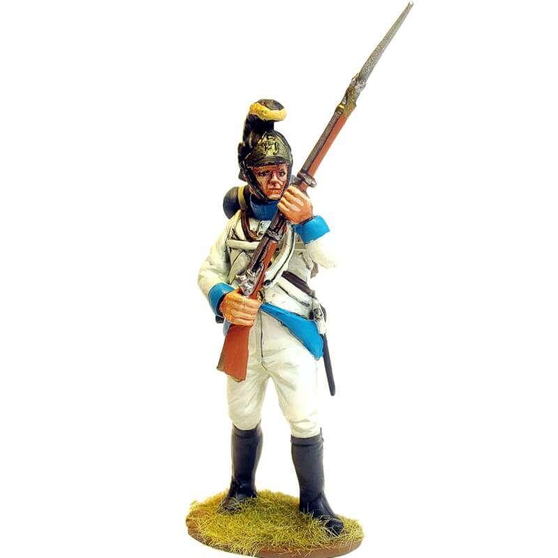 Regimiento infantería Austriaco Lindenau 1805 fusilero de pie