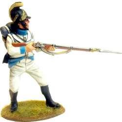 Regimiento infantería Austriaco Lindenau 1805 fusilero disparando