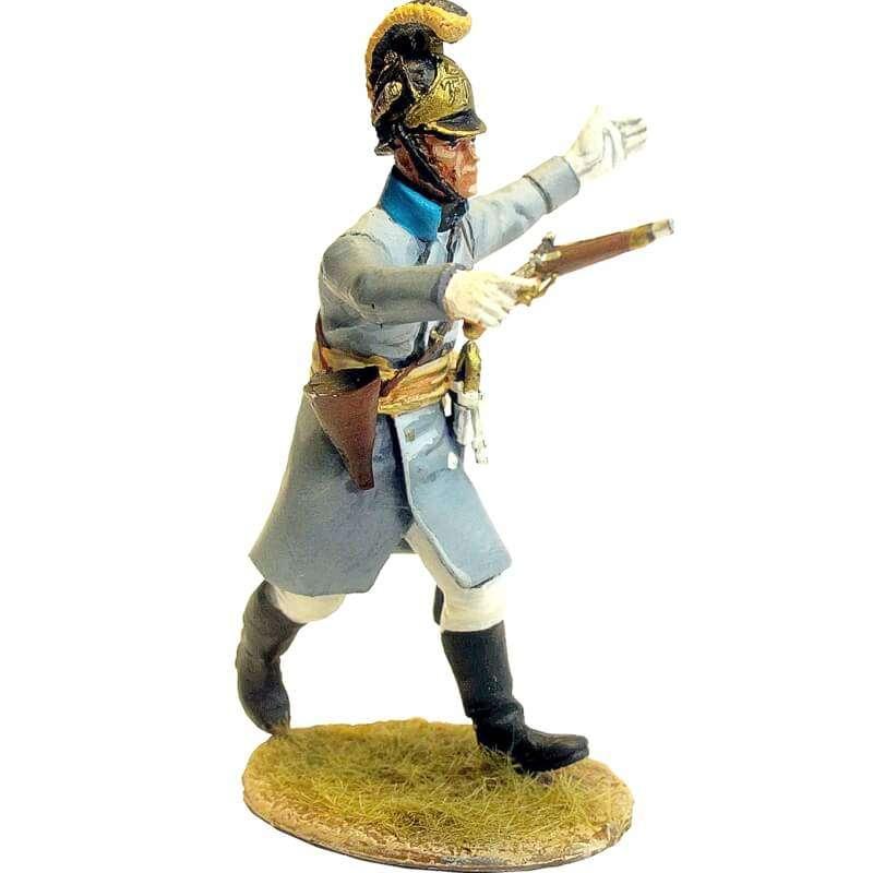 Regimiento infantería Austriaco Lindenau 1805 con abrigo