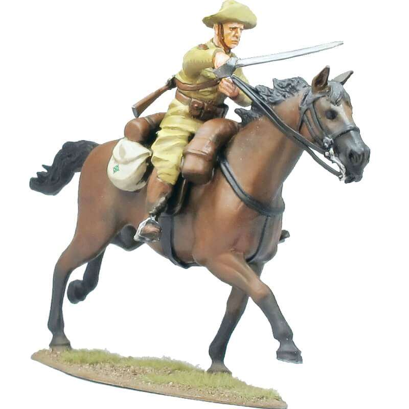 Regimiento de cazadores de Alcántara soldado 4