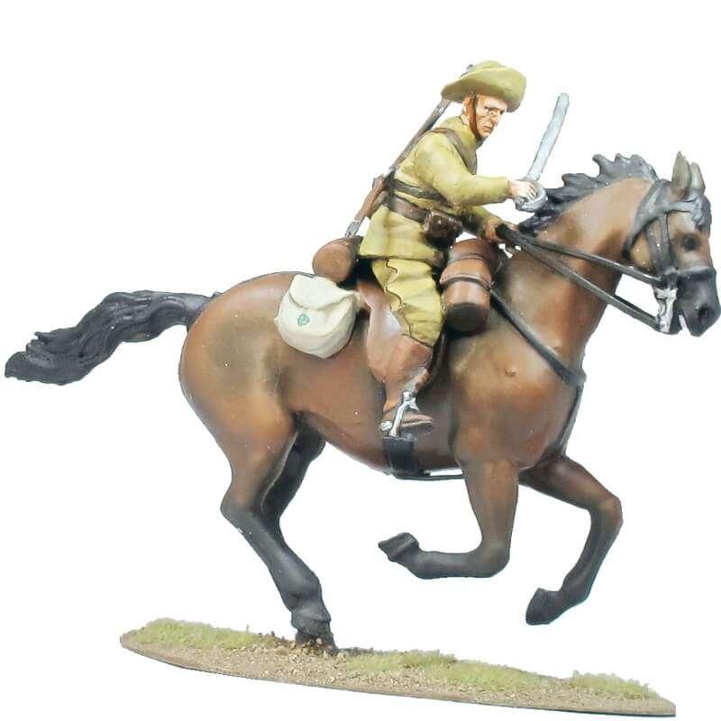 Regimiento de cazadores de Alcántara soldado 3
