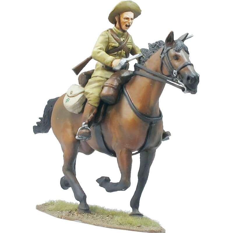 Regimiento de cazadores de Alcántara soldado 2